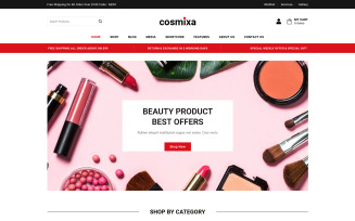 Cosmixa - Multipurpose WooCommerce Theme
