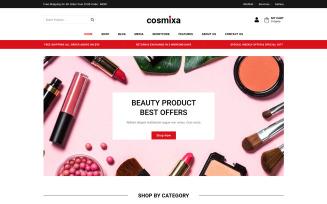 Cosmixa - Cosmetic and Fashion WooCommerce Theme