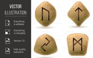 Runes - Vector Image