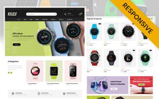 Vigils - Smart Watch Store WooCommerce Theme
