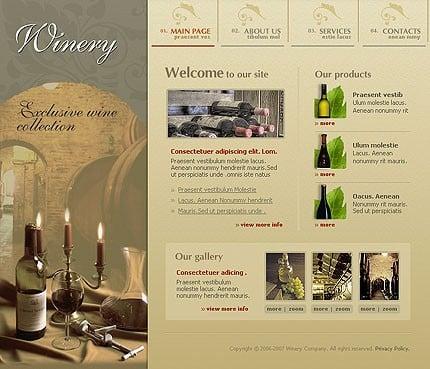 Relizare site companie vinuri