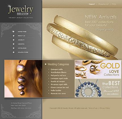Creare site bijuterie