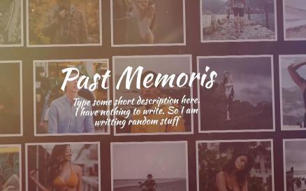 Past Memories Final Cut Pro Template
