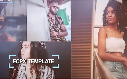 Photo Grid - Final Cut Pro Template
