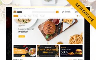 Burge - Fast Food Store