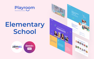 Playroom - Elementary School Elementor Kit