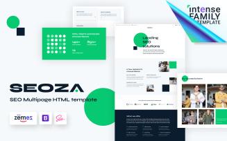 Seoza - SEO Agency HTML Website Template