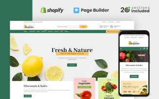 Organic House Store Shopify Theme