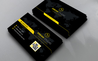 Unusual Business Card Corporate Identity Template