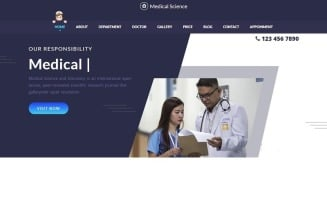 Medical Treatment Landing Page