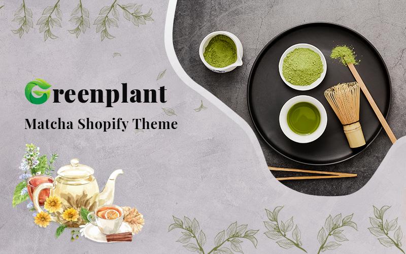 "Tema Shopify ""Greenplant – Matcha"" #117012"