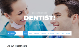 Dentist Landing Page Template