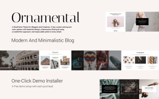 Ornamental - Multi-Concept Responsive Blog WordPress Theme
