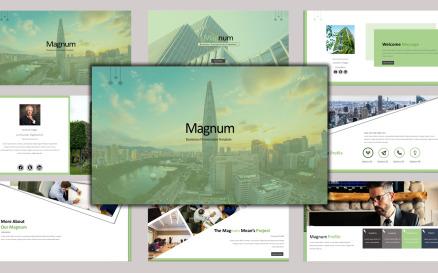 Magnum - Creative Business Google Slide