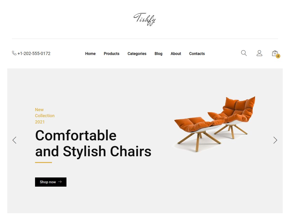 Tishfy Shopify Theme