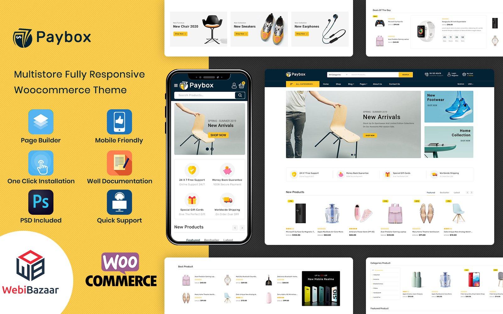 PayBox - Multipurpose Super Market WooCommerce Theme