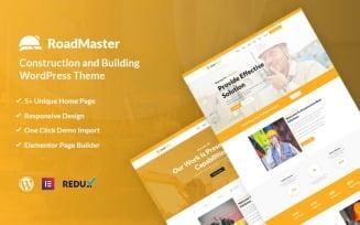 Roadmaster - Construction and Building WordPress Theme