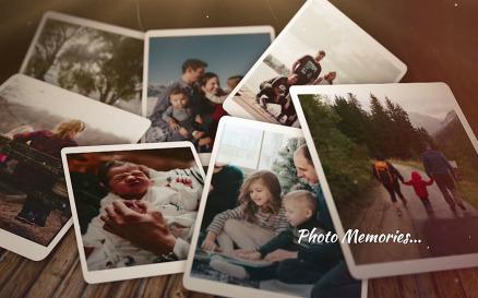 Dramatic Photo Memories Final Cut Pro Template