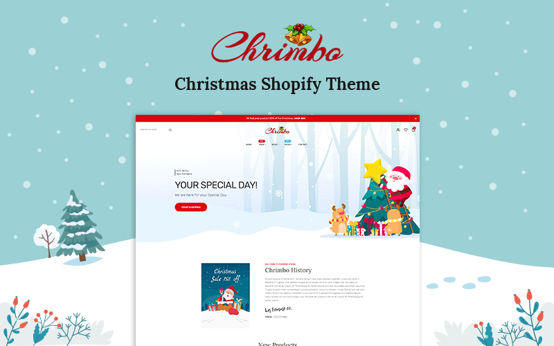 Chrimbo - Christmas Shopify Theme