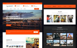 Constru - Construction & Building Business Joomla Template