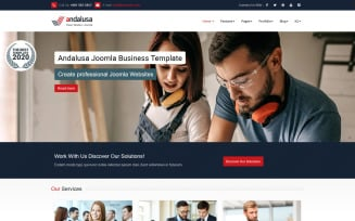 Andalusa Business-Corporation Joomla Template