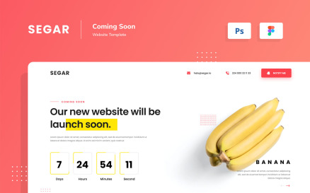 Segar - 8 Coming Soon UI Element