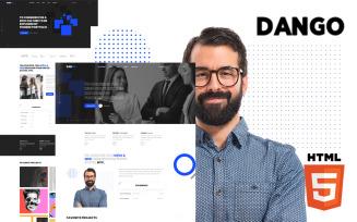 Dango - Creative Portfolio Website Template