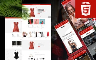 Huma - Bootstrap 4 ecommerce HTML5 Website Template
