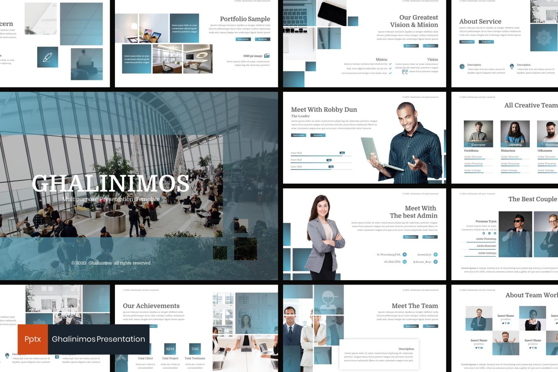 Ghalinimos PowerPoint Template