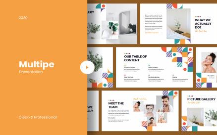 Multipe - Geometric Keynote Template