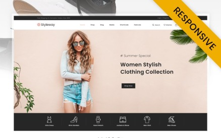 Styleway - Online Fashion Store WooCommerce Theme