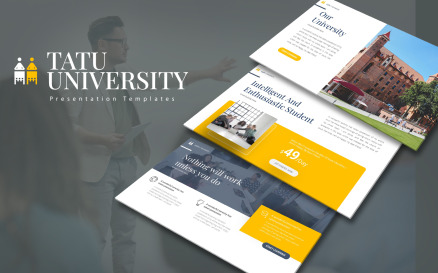 Tatu Uni Presentation PowerPoint Template