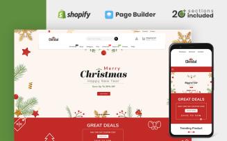 Christal Christmas Store Shopify Theme