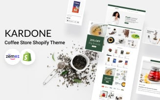 KarDone - Coffee Store Shopify Theme
