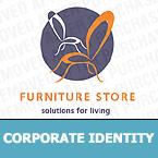 Furniture Corporate Identity Template 12050
