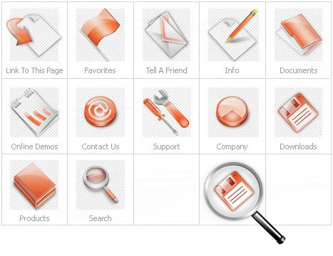 Icon Set Template 12061 Screenshots