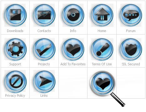 Icon Set Template 12064 Screenshots