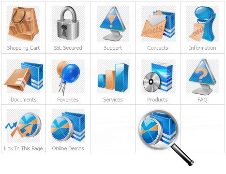 Icon Set Template 12065 Screenshots