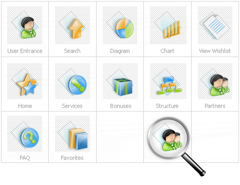 Icon Set Template 12067 Screenshots