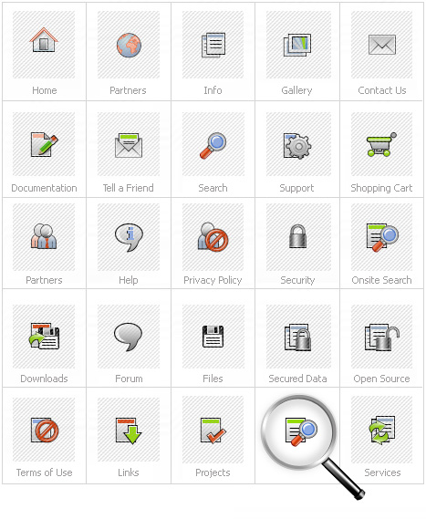 Icon Set Template 12068 Screenshots
