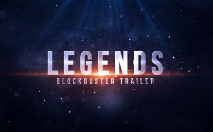 Legends Blockbuster Trailer After Effects Template