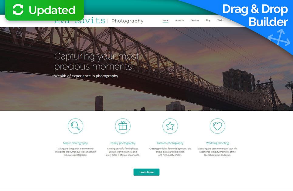 Gallery Web Template for Photo Portfolio | MotoCMS