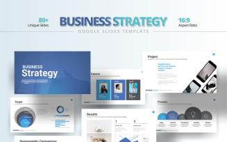 Business Strategy Template Google Slides
