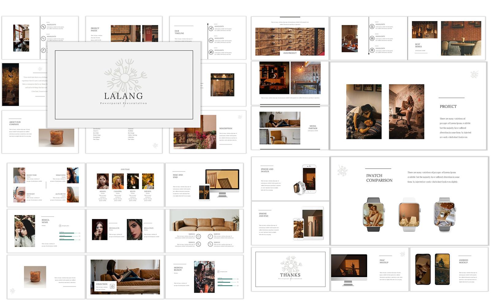 Responsivt Lalang Google Slides #120132