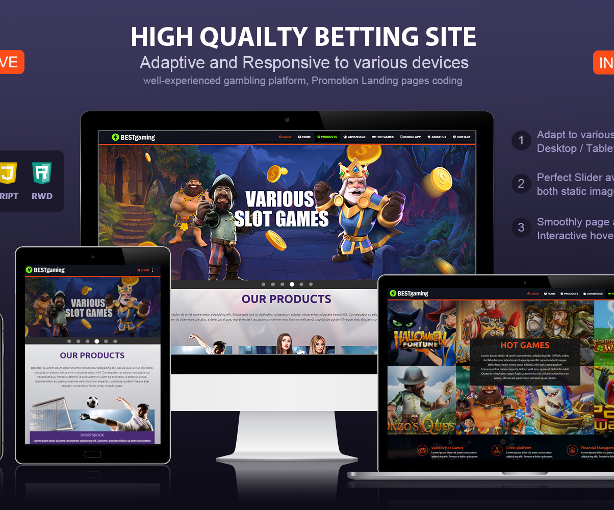 Text template for sport betting landing page insane csgo betting websites