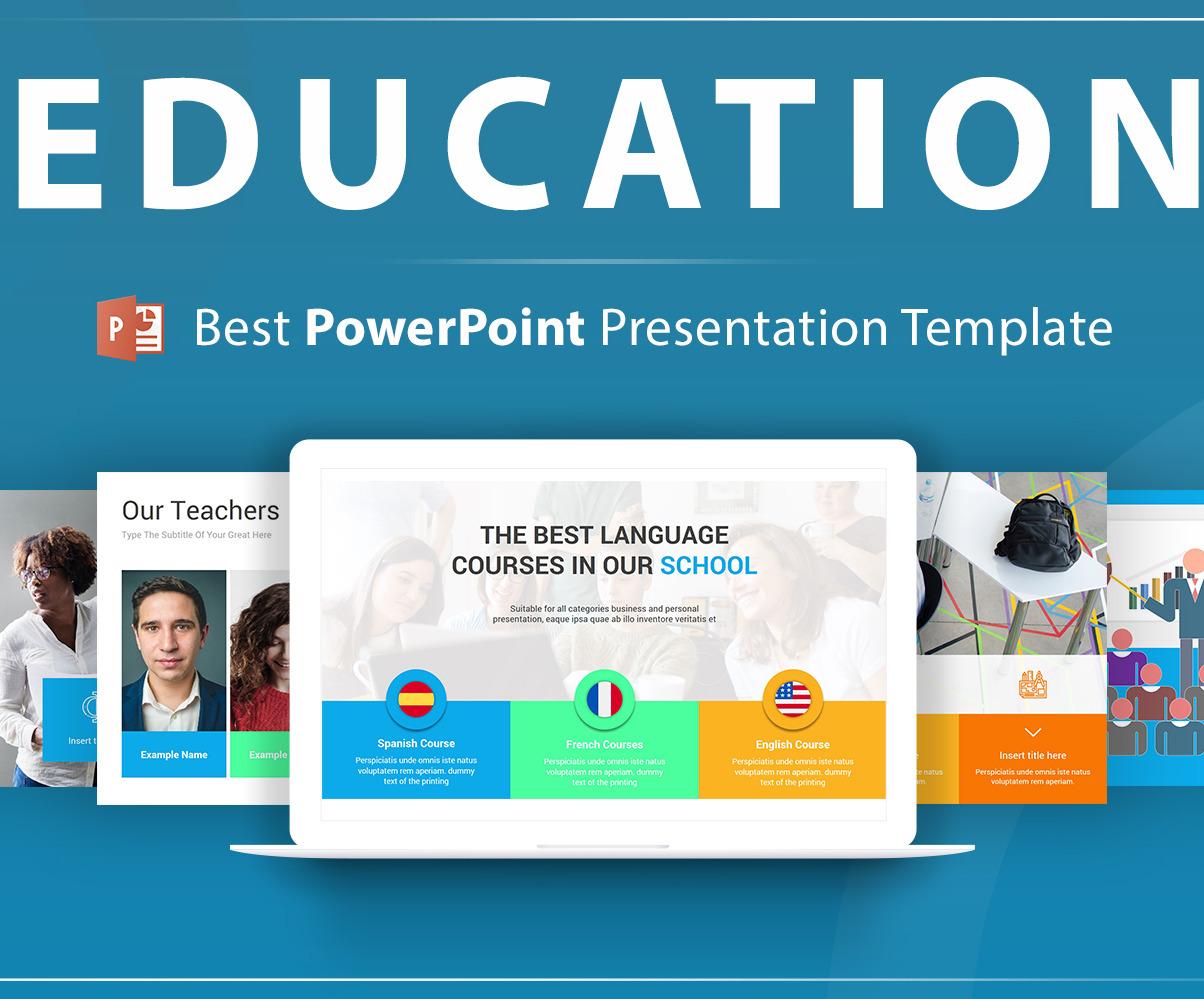 education powerpoint template 104626 original