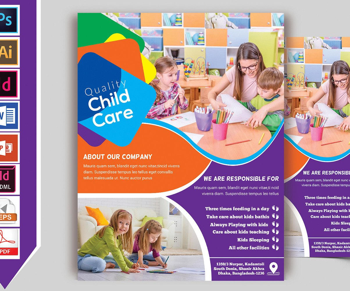 Child Care Flyer Template from s.tmimgcdn.com