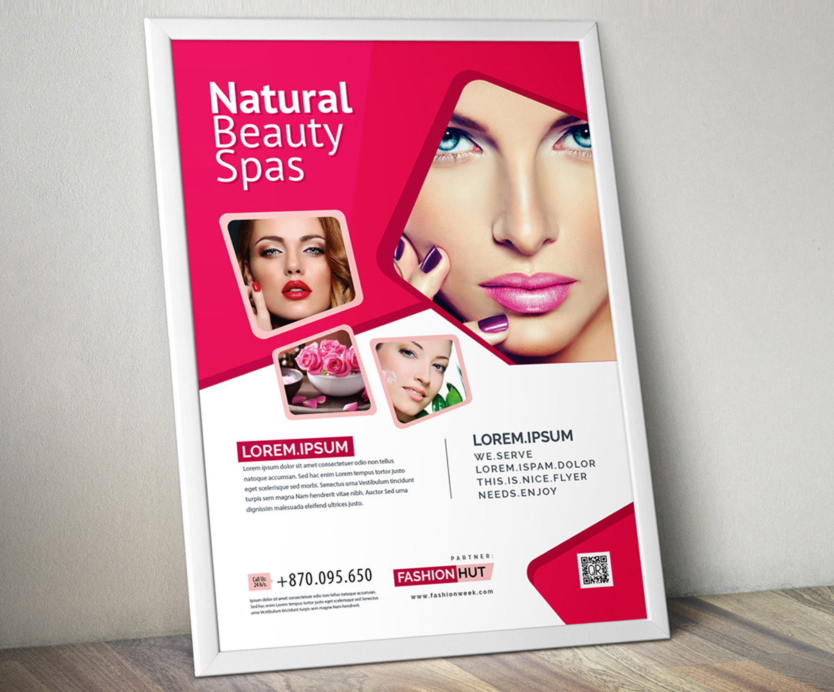 Fashion Beauty Salon Flyer Corporate Identity Template 110852