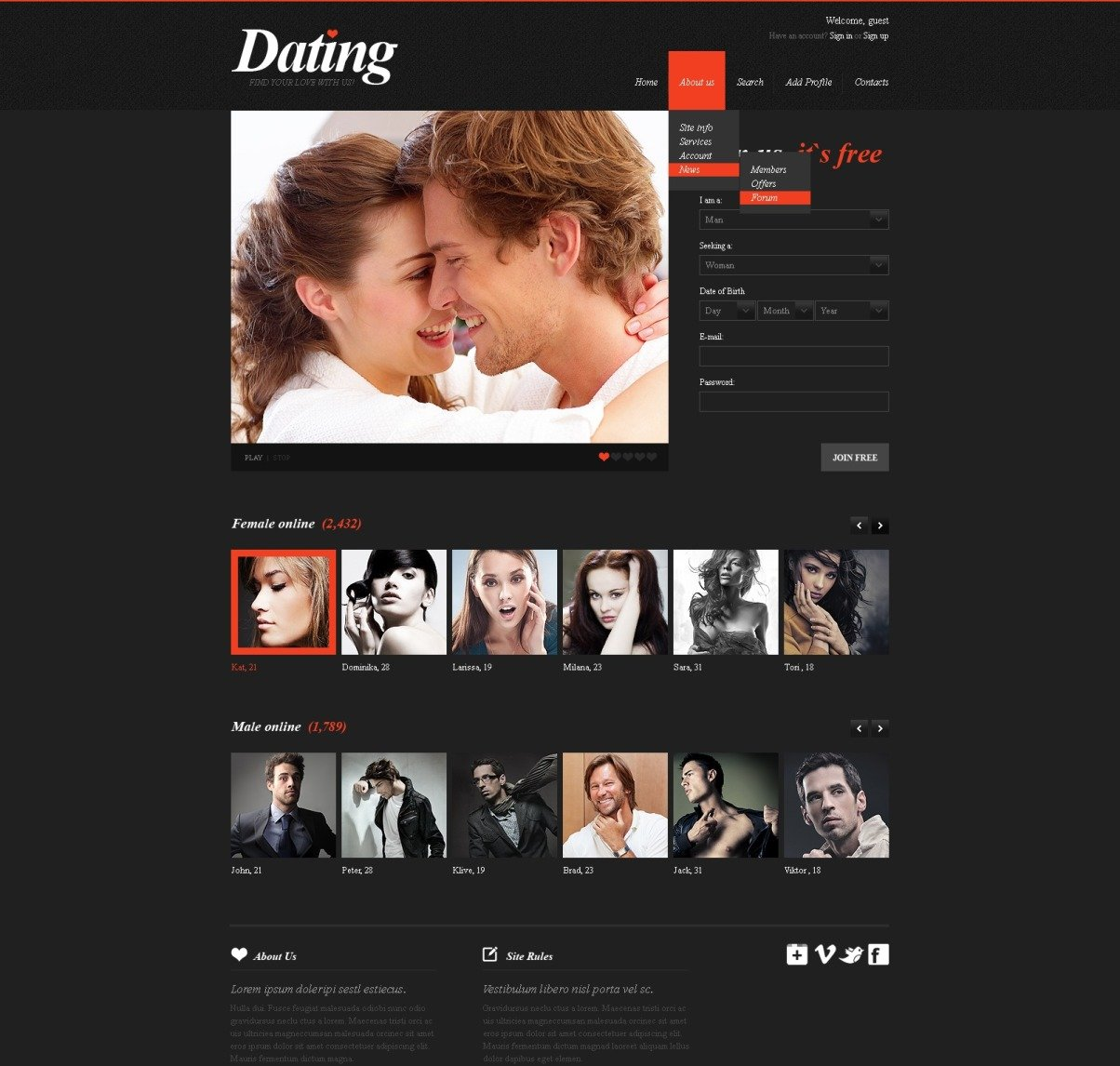 dating websites for professionals