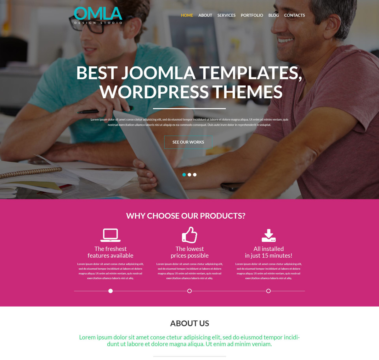 Web Design Agency Wordpress Theme 52037